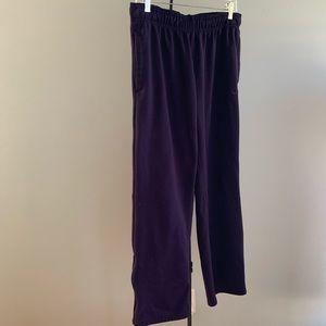 Nike Therma Fit Fleece lined Pants sz Large Purple